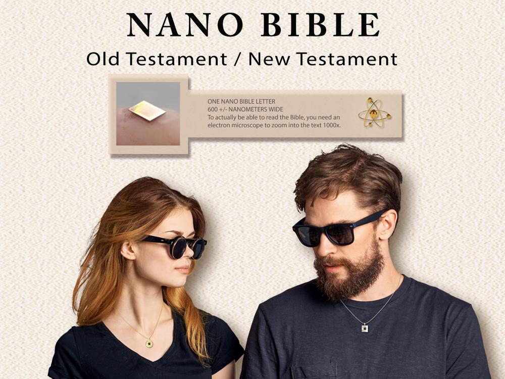 Bible pendant necklace for visitors in Tel Aviv